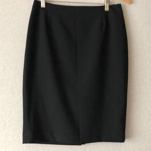 Jones New York Dark Navy Pencil Skirt Sz4